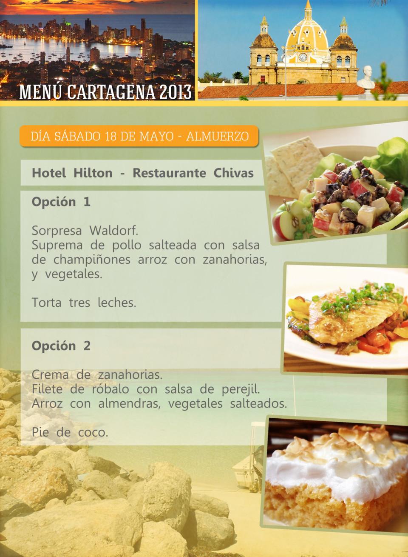 ORIG 3 menu cartagena 11X15cm