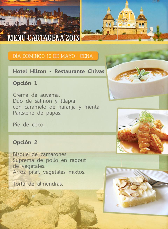 ORIG 5 menu cartagena 11X15cm