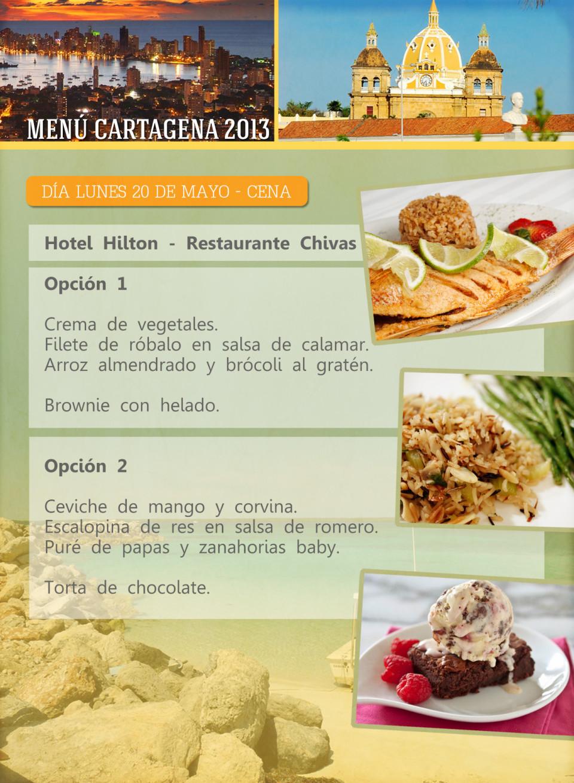 ORIG 6 menu cartagena 11X15cm