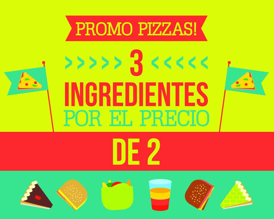3 ingredientes por el precio