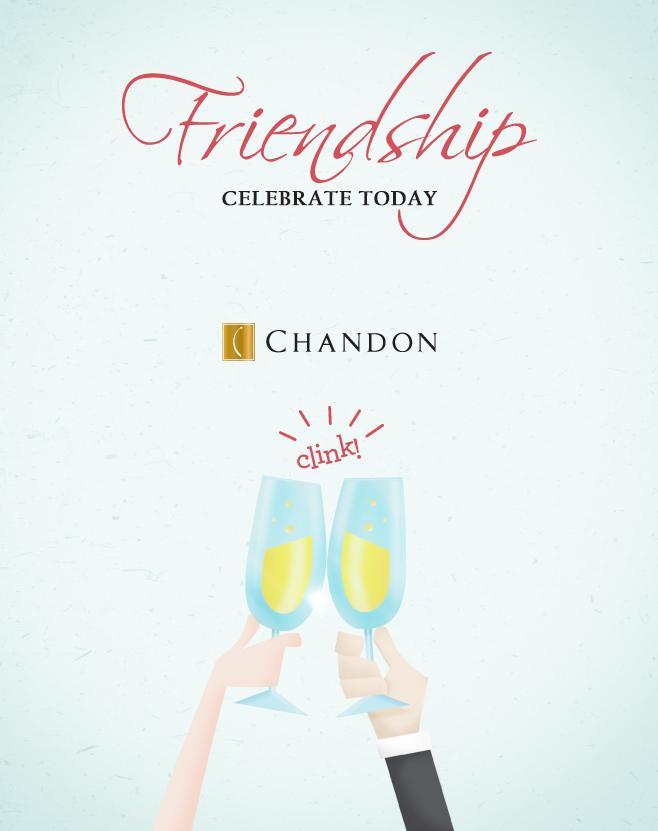 chandon celebrate today